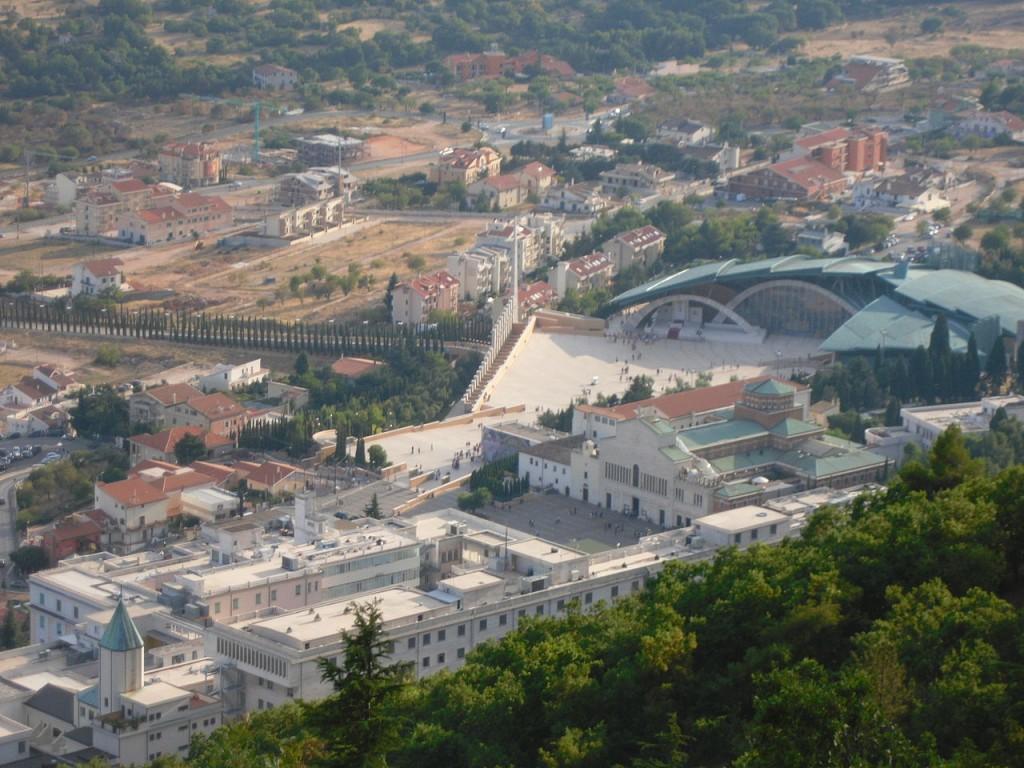 Vista Panoramica sul Santuario di San Pio a San Giovanni Rotondo