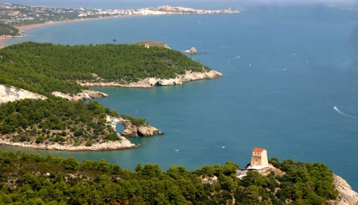 La costa di Vieste